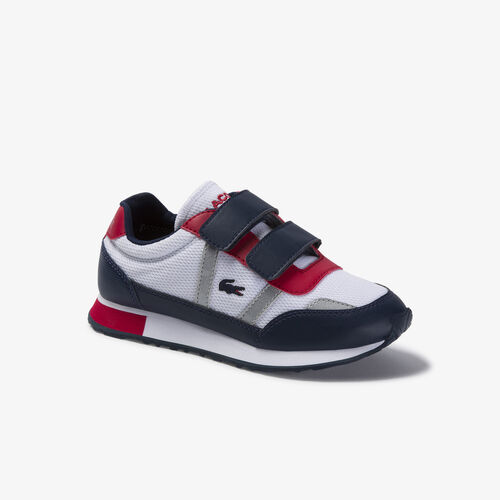 Children's Partner Textile And Synthetic Sneakers