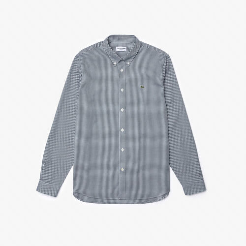 Men's Regular Fit Checkered Premium Cotton Shirt