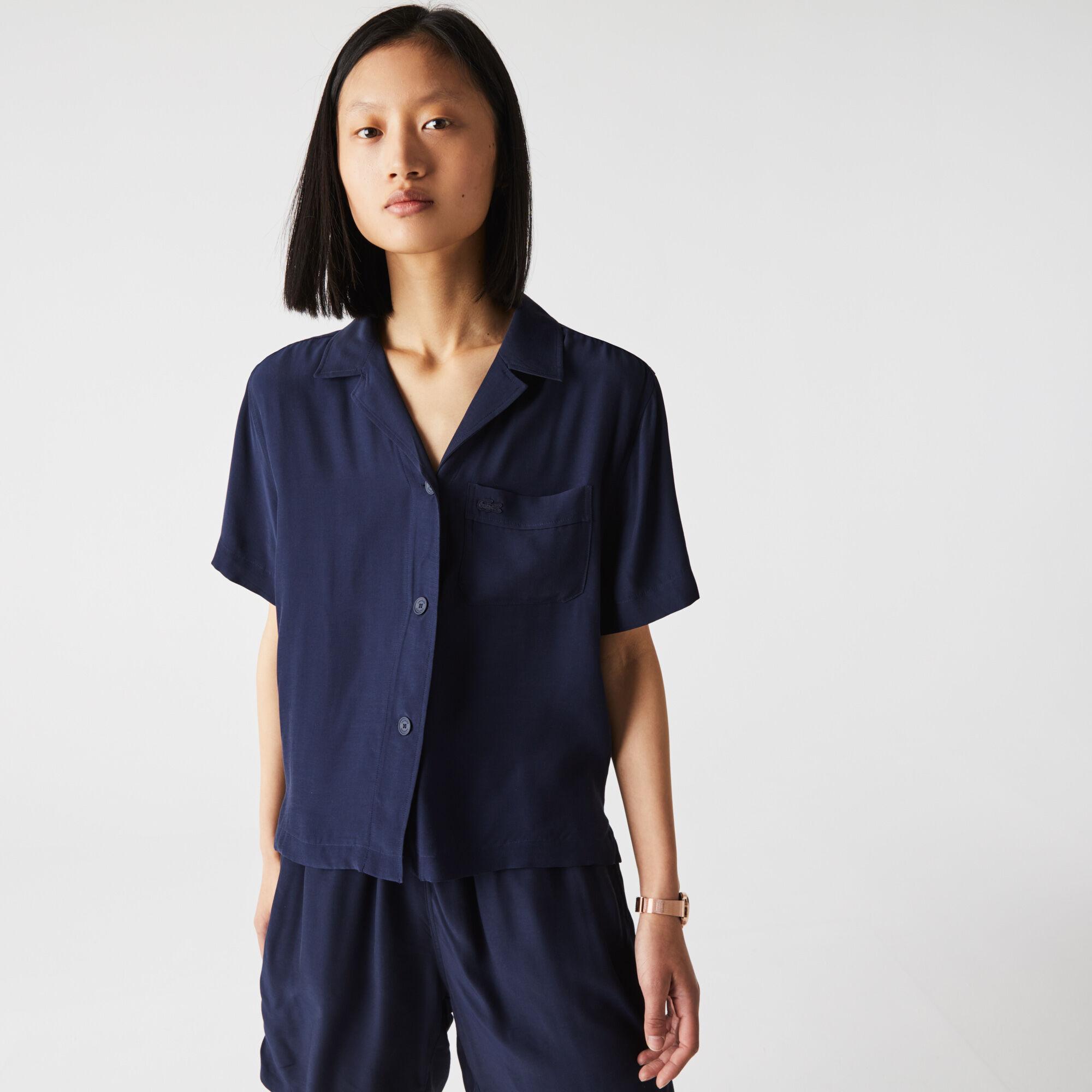 قميص للنساء خفيف قصة هاواي