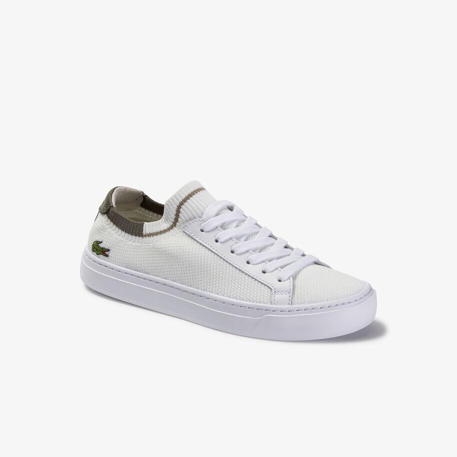 حذاء رياضي ملون للسيدات من قماش لا بيكيه