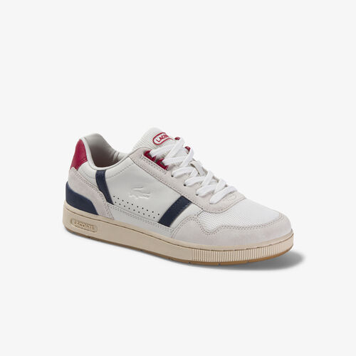 Women's T-clip Leather Sneakers