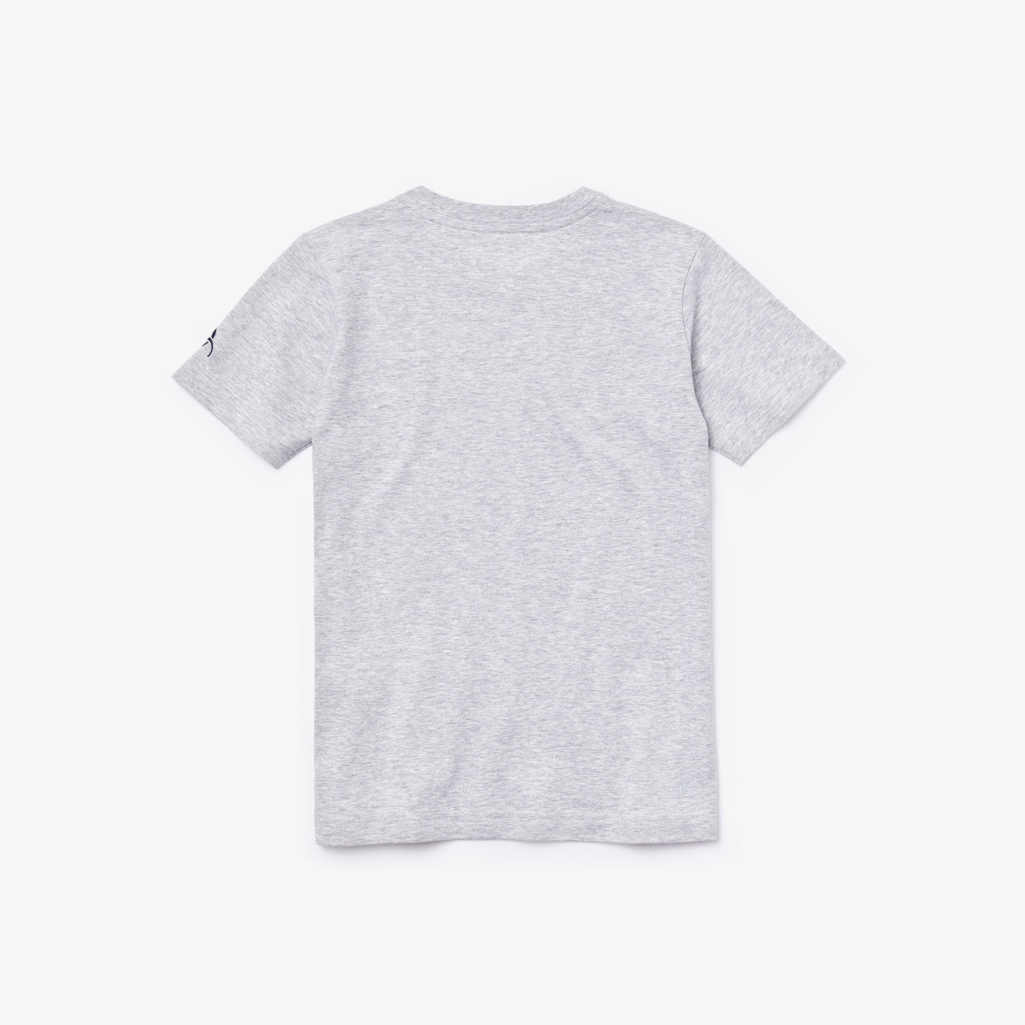 قميص تي شيرت للصبية بطبعة التمساح من مجموعة Lacoste SPORT x Novak Djokovic