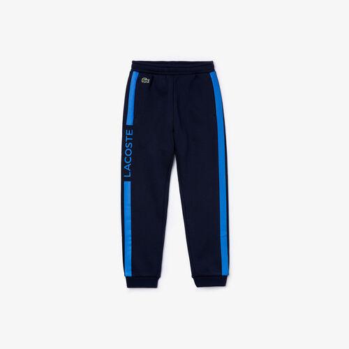 Boys' Lacoste Sport Fleece Tracksuit Pants