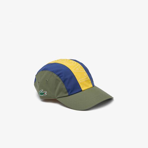 Men's Lightweight Water-resistant Lettered Colorblock Cap