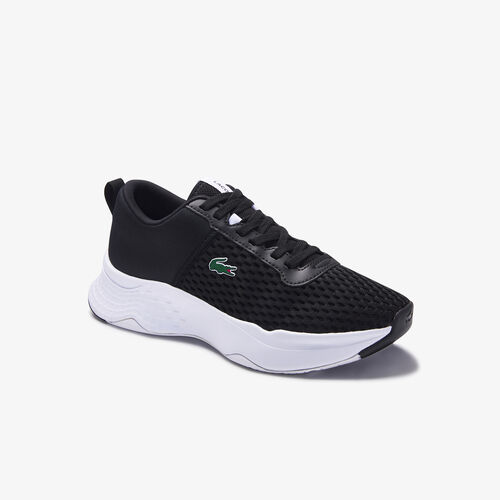 Juniors' Court-drive Mesh And Stretch-knit Trainers