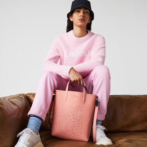Women's Anna Small Branded Canvas Shopper Bag