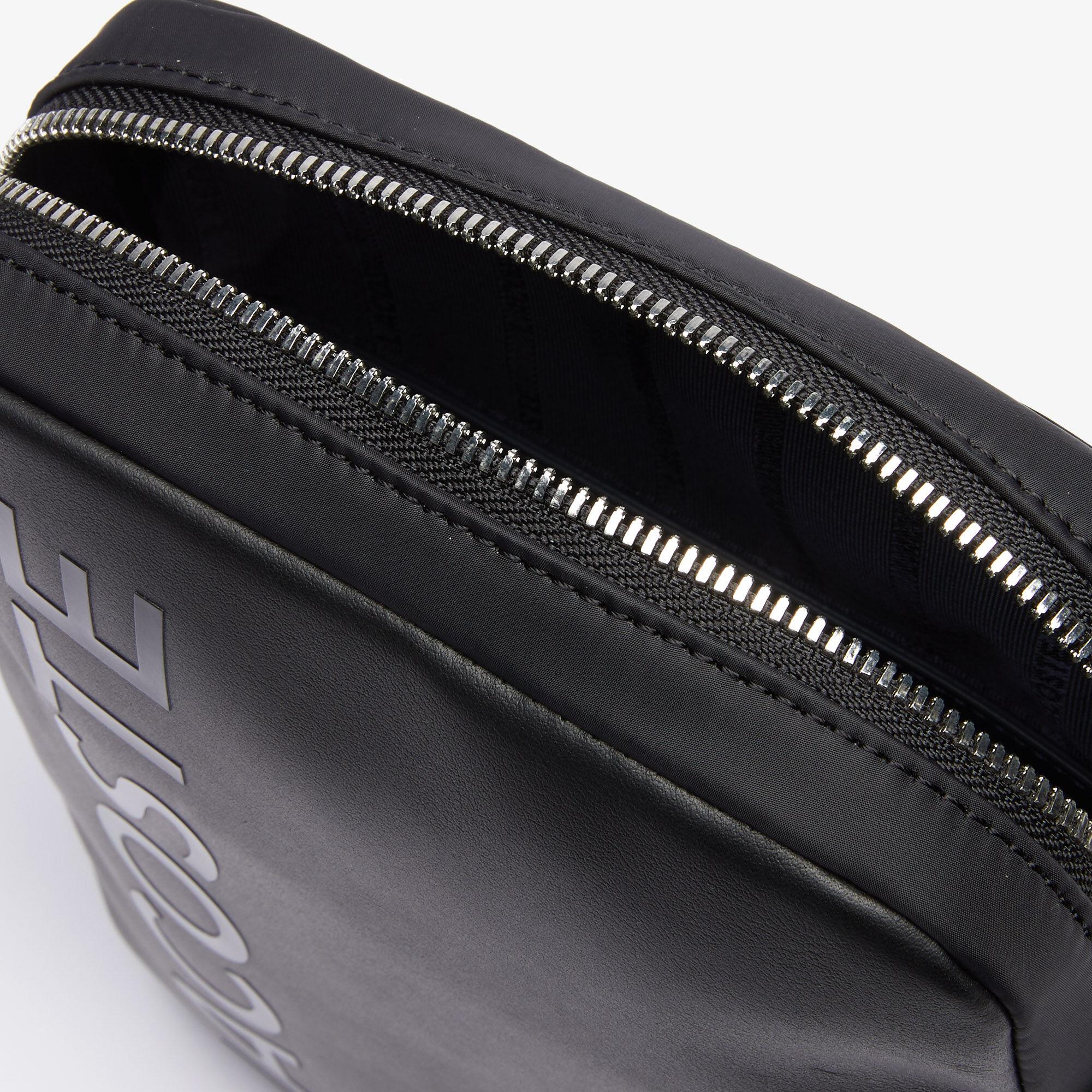 Men's L.12.12 Signature Leather Cross Body Bag