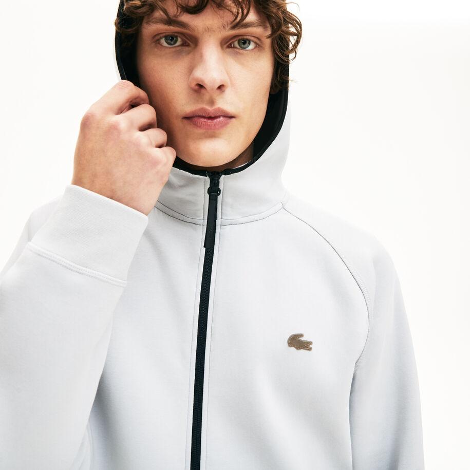 Men's Lacoste Motion Hooded Zip Sweatshirt