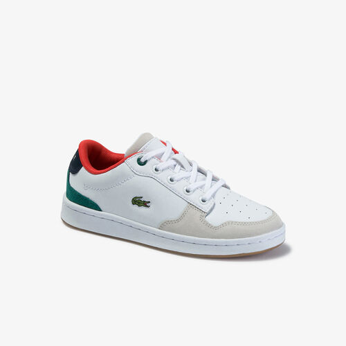 Children's Masters Cup Metallic Leather Sneakers