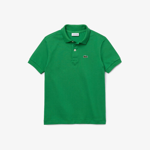 Kids' Lacoste Petit Piqué Polo Shirt
