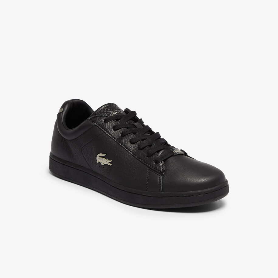 Men's Carnaby Evo Leather Platinum Detailing Trainers