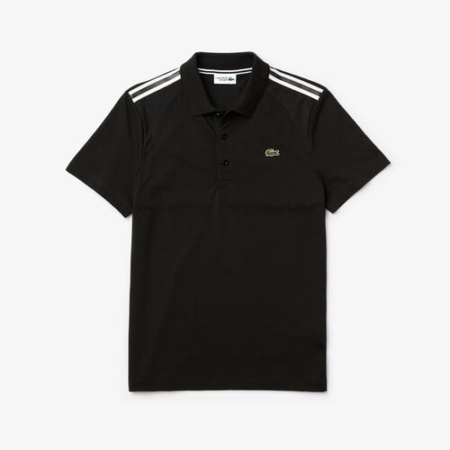 Men's Lacoste Sport Paneled Ultra-light Cotton Polo Shirt