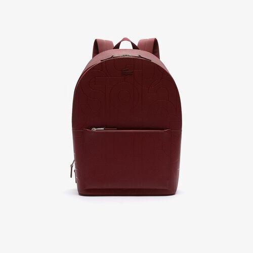 حقيبة ظهر رجالية من جلد البيكية من مجموعة Chantaco
