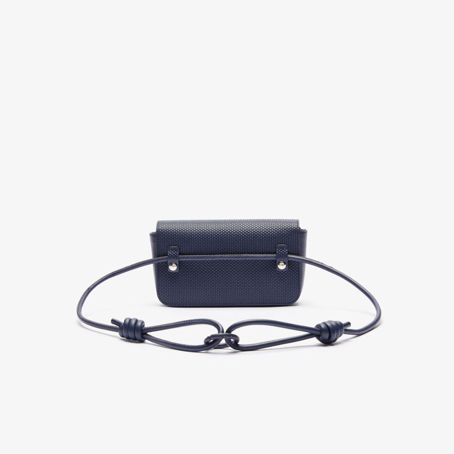 Women's Chantaco Matte Piqué Leather Flap Belt Bag