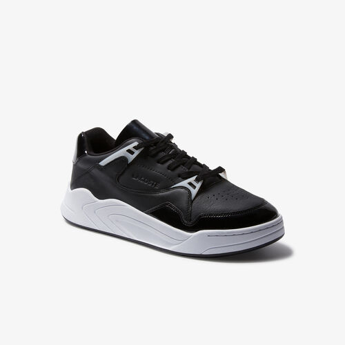 Men's Court Slam Leather Sneakers