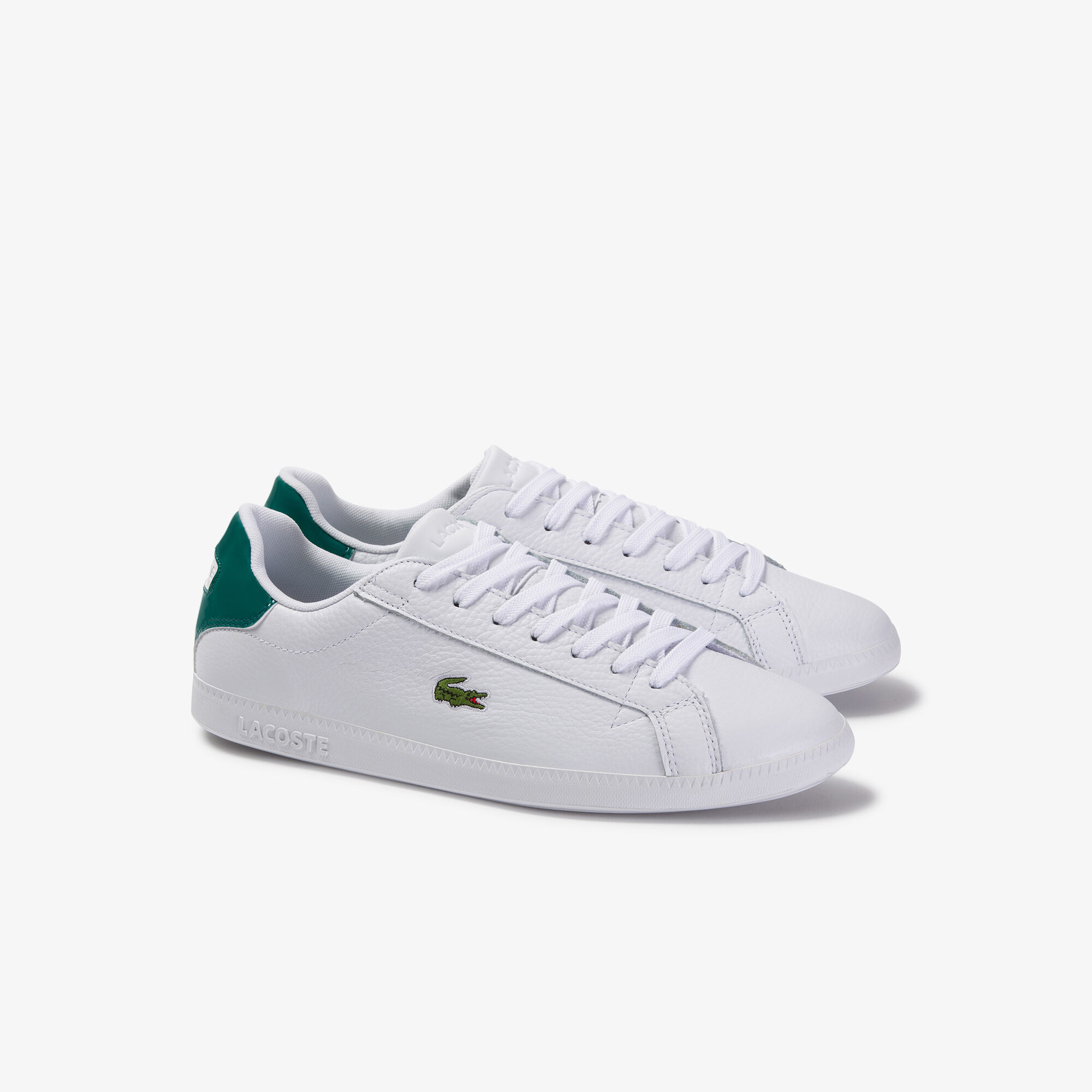 Men's Graduate Tumbled Leather and Synthetic Sneakers