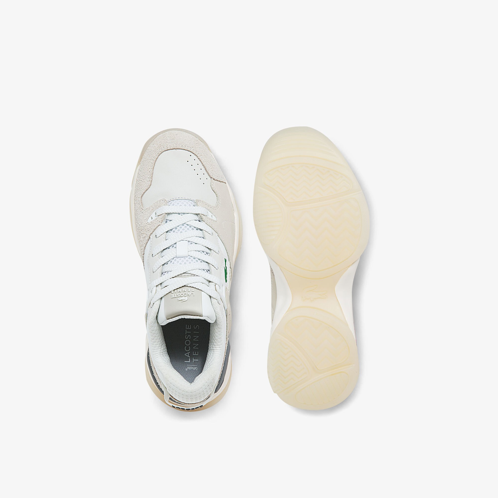 Women's T-Point Nubuck Leather Trainers