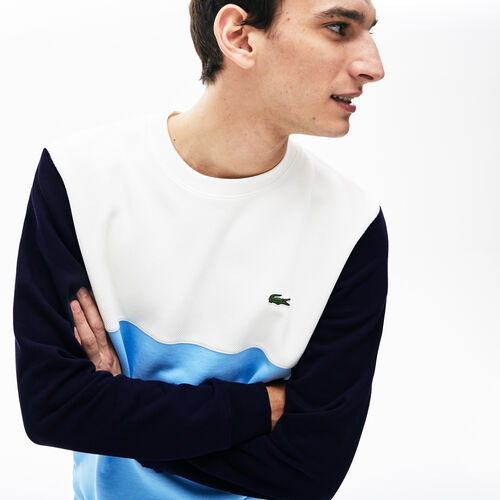 Men's Colourblock Crew Neck Sweatshirt