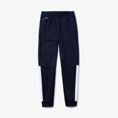 Men's Lacoste Sport Run-resistant Piqué Trackpants