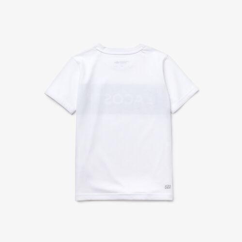 Boys' Lacoste Sport Lettering Jersey Tennis T-shirt