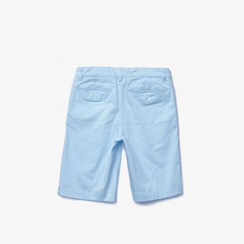 Boys' Stretch Cotton Bermudas