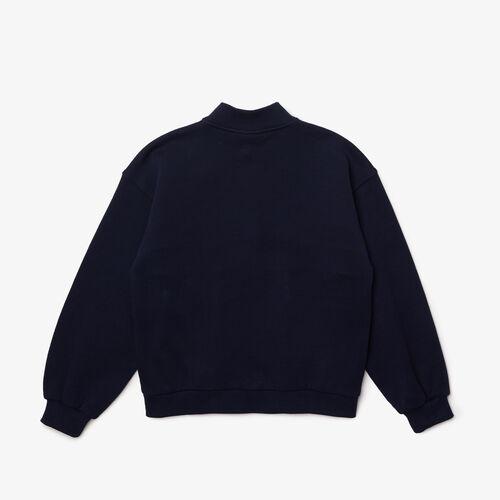Kids' Colorblock Bands Fleece Zip Sweatshirt