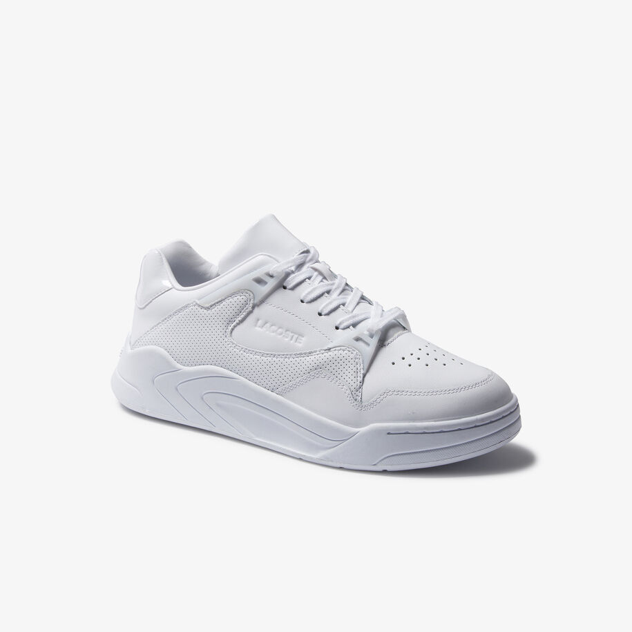 Men's Court Slam Tonal Leather Sneakers