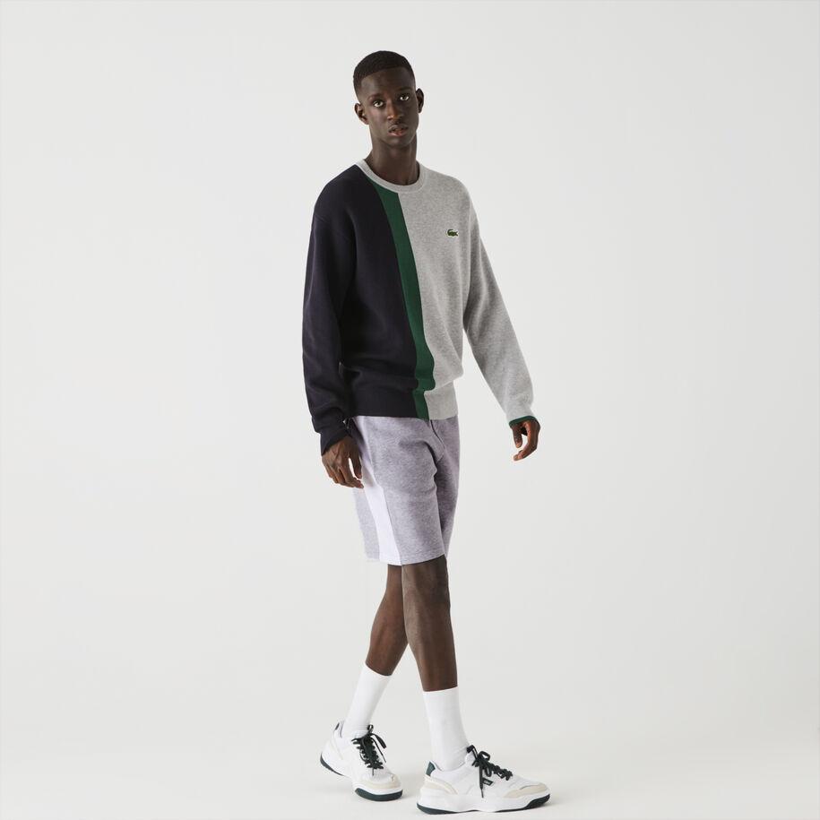 Men's Lacoste SPORT Contrast Band Fleece Shorts