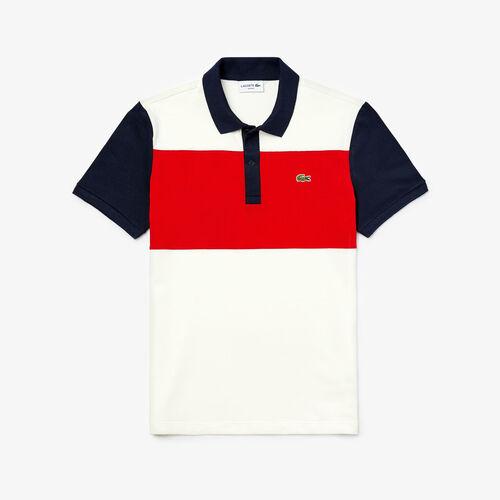 Men's Lacoste Stretch Colourblock Polo Shirt