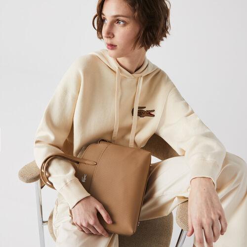 Women's Chantaco Handles Piqué Leather Handbag