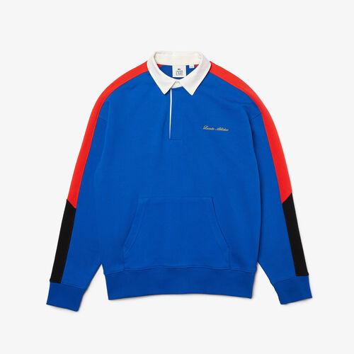 Men's Lacoste Live Colourblock Fleece Polo Shirt Sweatshirt