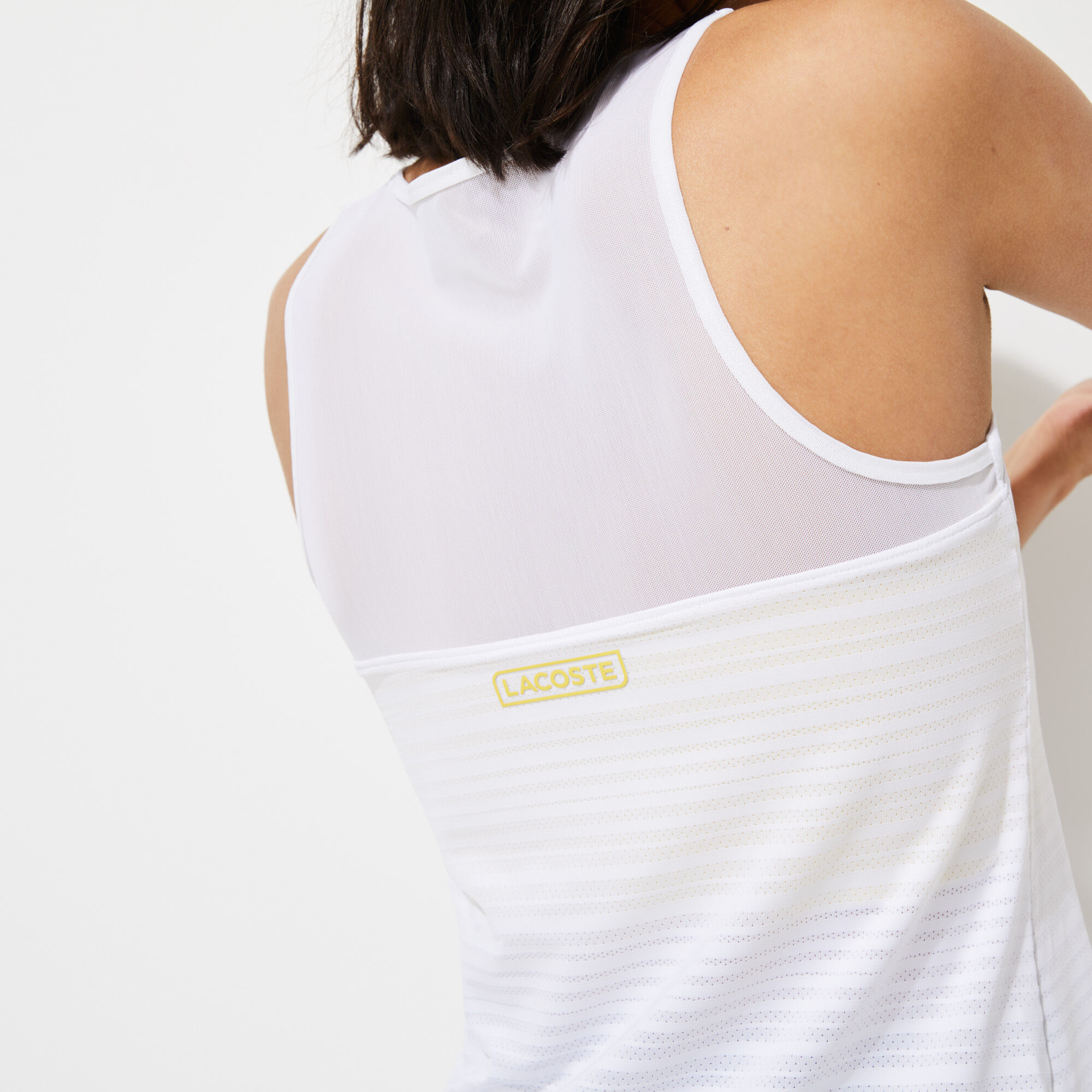 Women's Lacoste SPORT French Open Edition Bimaterial Tank Top