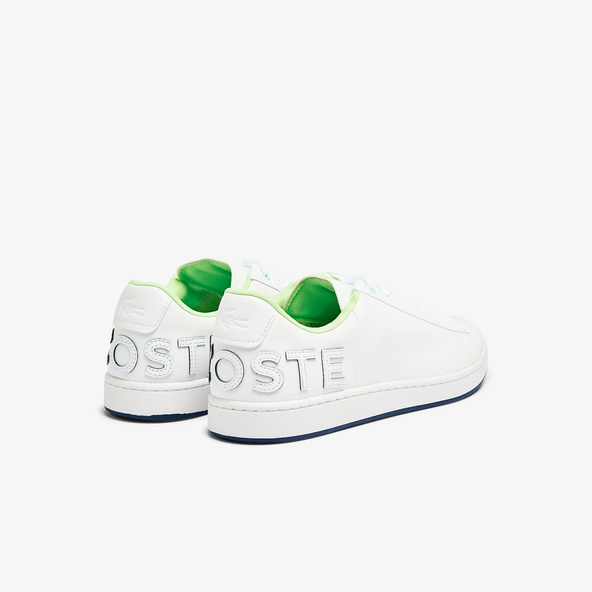Men's Carnaby Evo Leather and Citrus Accent Trainers
