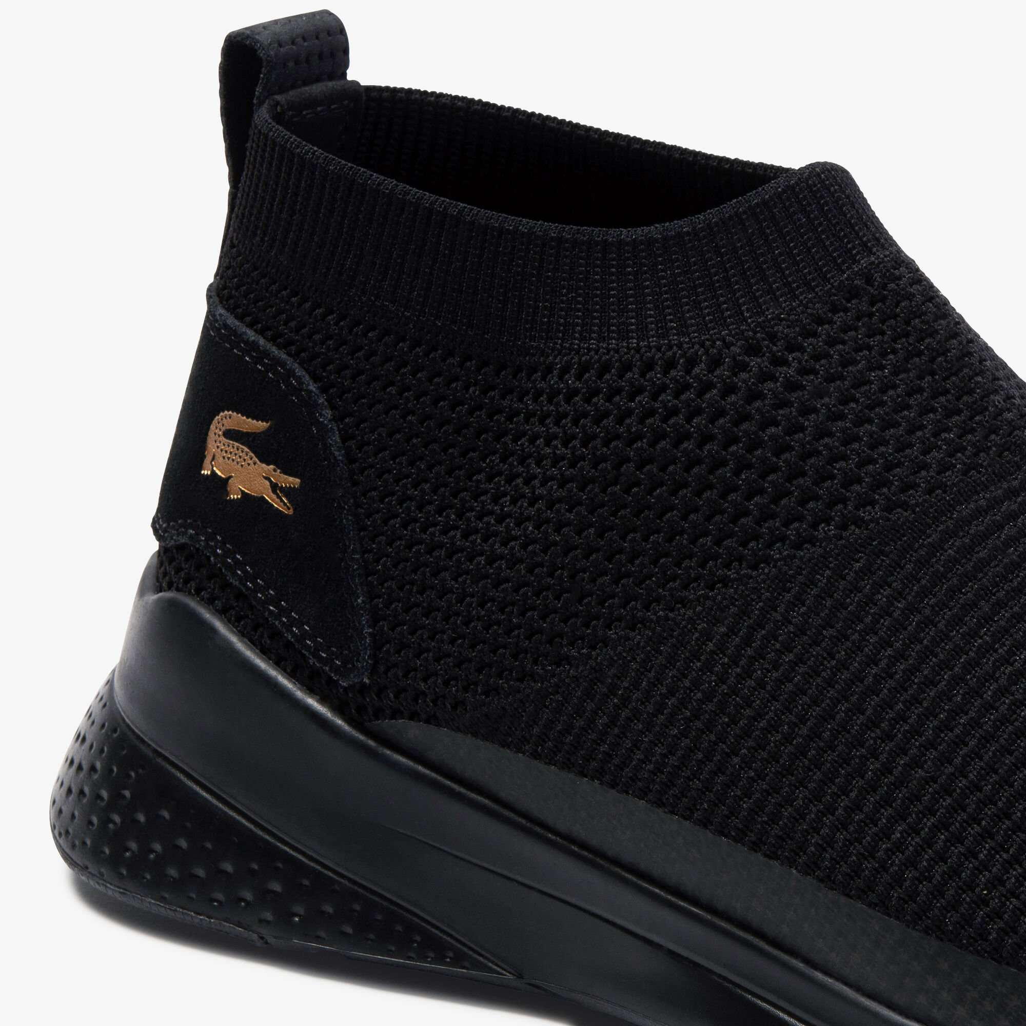 Men's LT Fit Sock Textile and Suede Slip-ons
