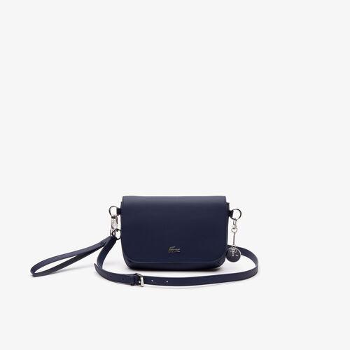 Women's Daily Classic Coated Piqué Canvas Flap Shoulder Bag
