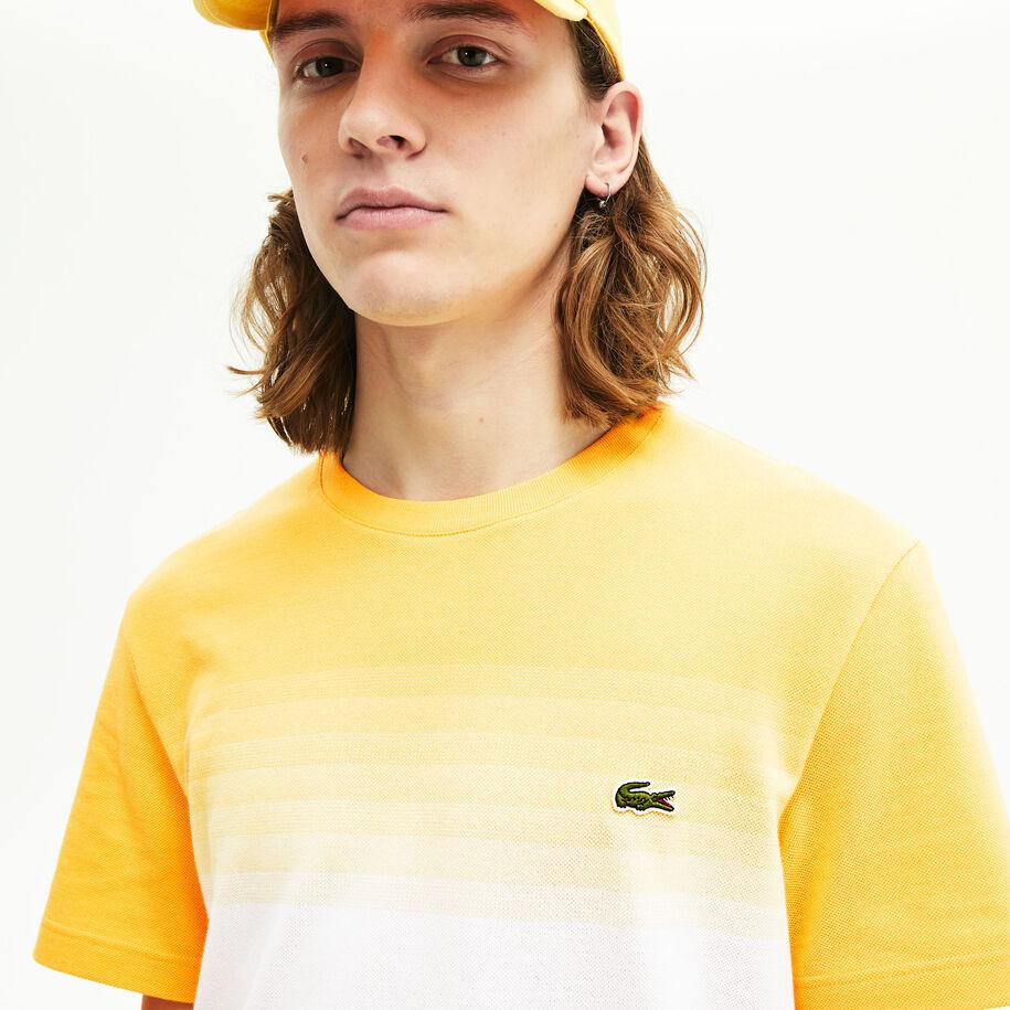 Men's Made in France Cotton Piqué Cotton Crew Neck T-shirt