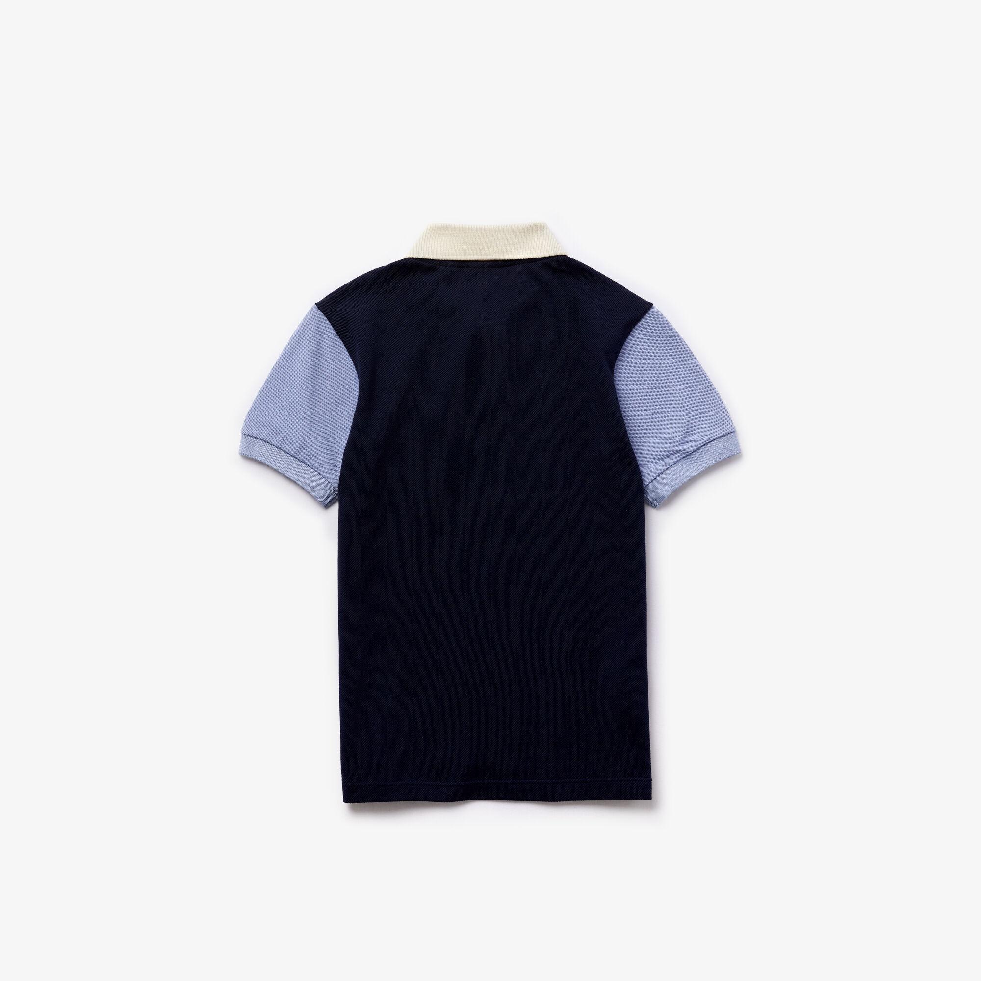 Boy's Lacoste Cotton Polo Shirt