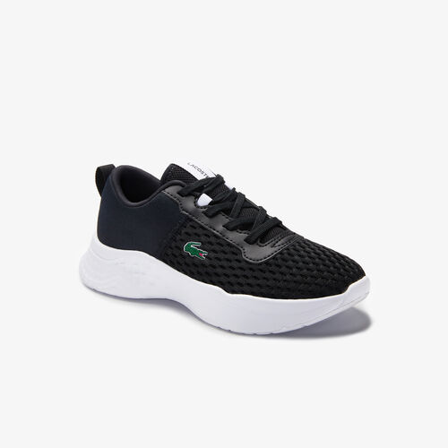 Children's Court-drive Mesh And Stretch-knit Trainers
