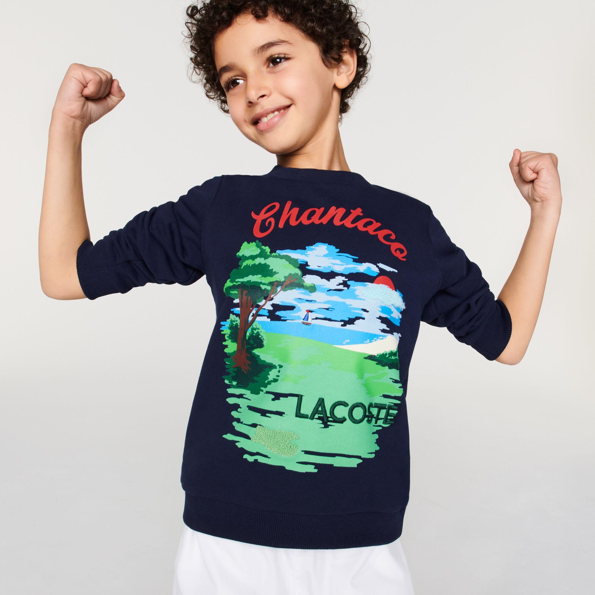 سويت شيرت صوف مع طباعة Chantaco للأولاد