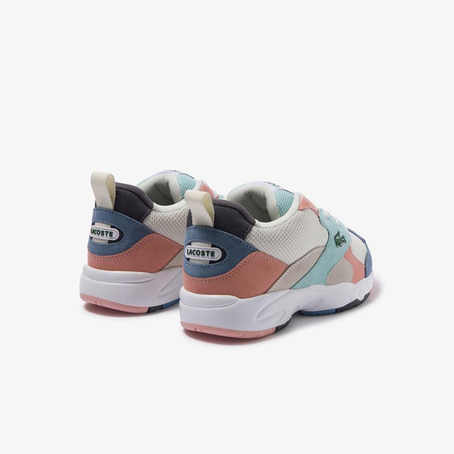 حذاء رياضي من القماش والجلد المدبوغ من مجموعة Storm 96 للسيدات