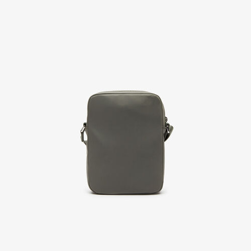 Men's L.12.12 Signature Leather Vertical Bag