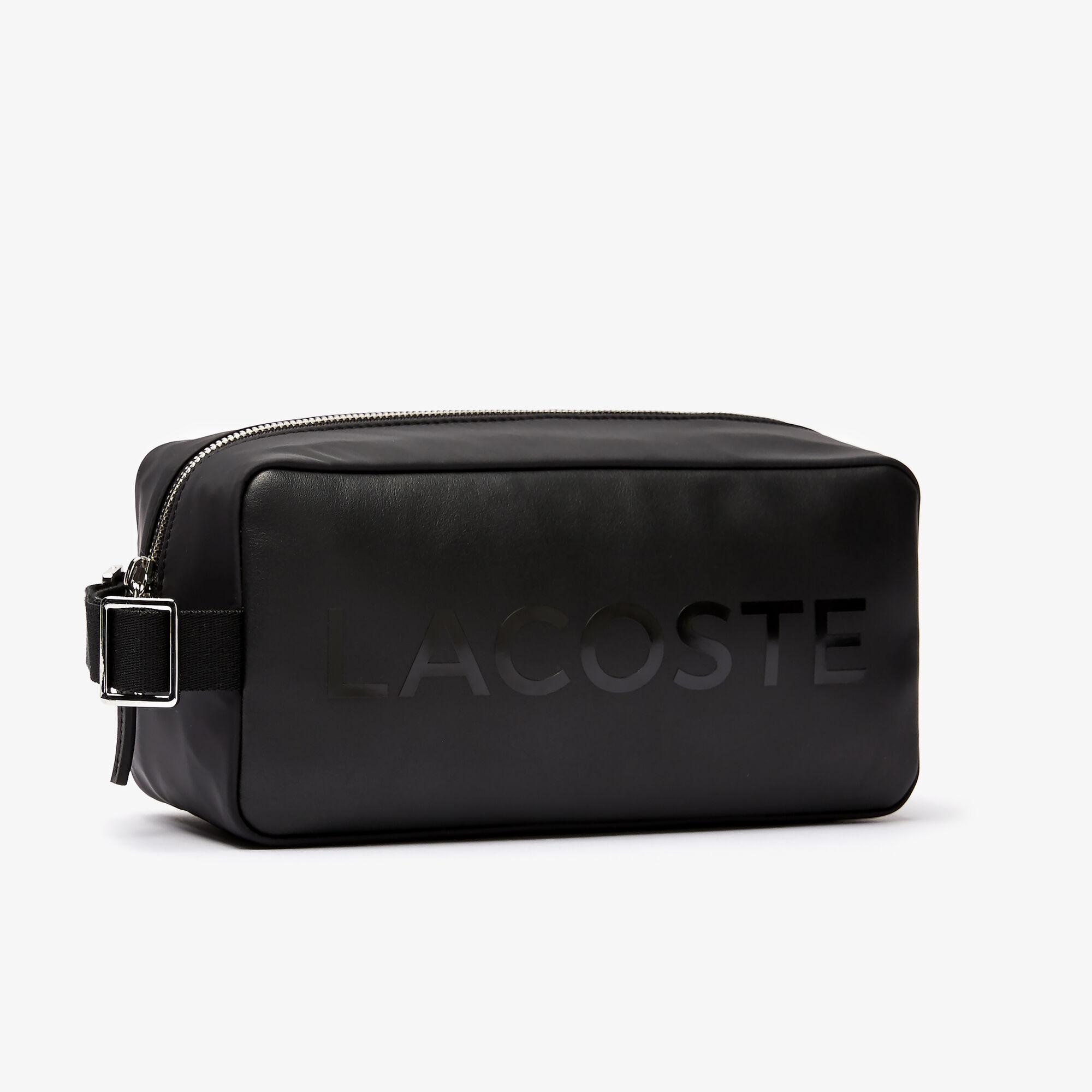 حقيبة أدوات العناية الشخصية بسحاب مميزة بشعار العلامة التجارية مجموعة L.12.12 للرجال