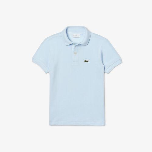 Kids' Lacoste Regular Fit Petit Piqué Polo Shirt