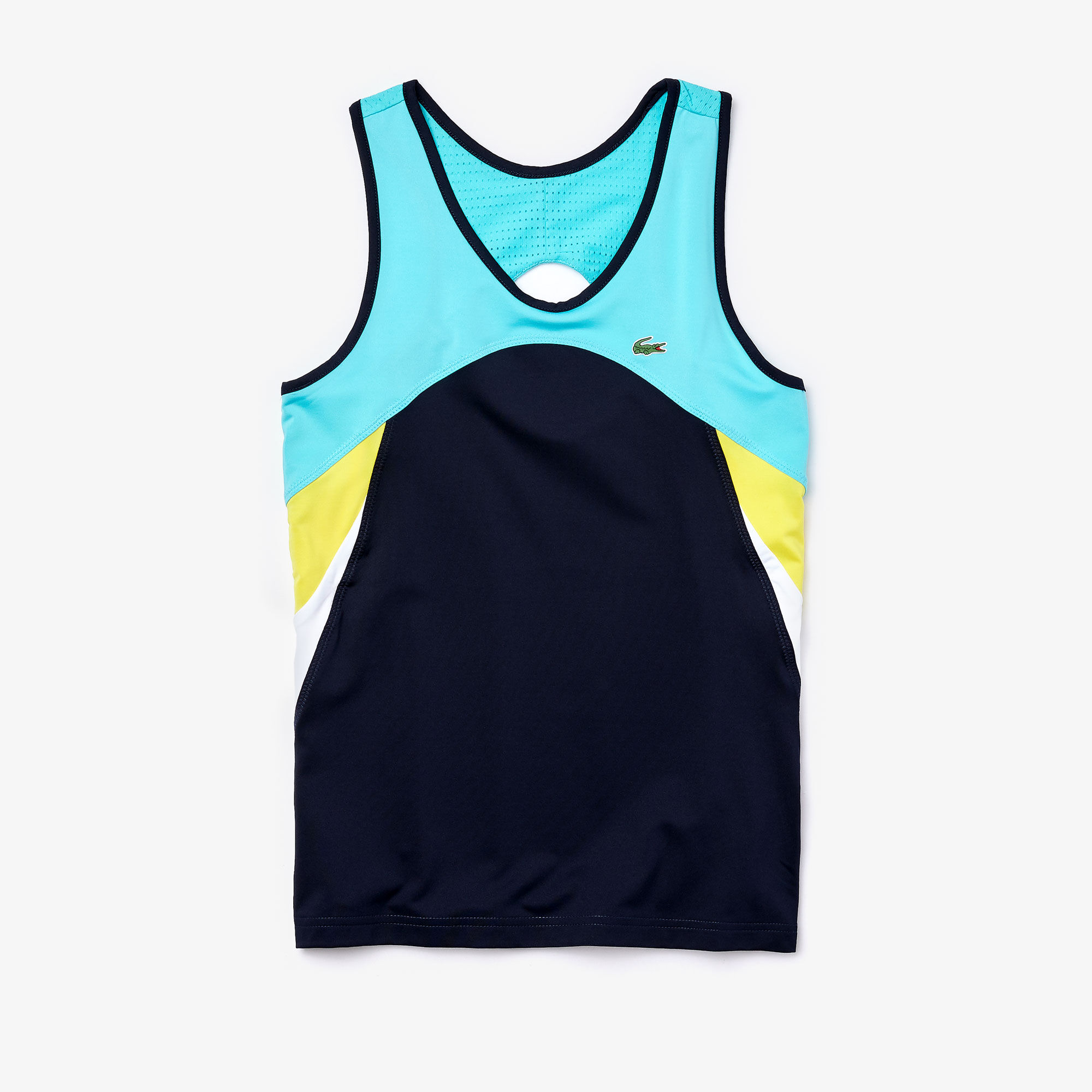 Women's Lacoste SPORT Breathable Stretch Tennis Tank Top