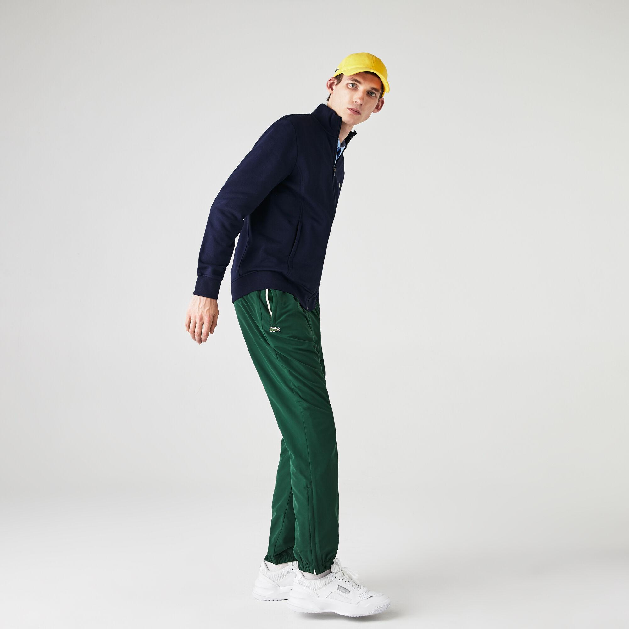 Men's Lacoste SPORT Cotton Blend Fleece Zip Sweatshirt