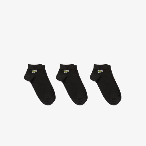 Men's Three-pack Of Lacoste Sport Low-cut Cotton Socks
