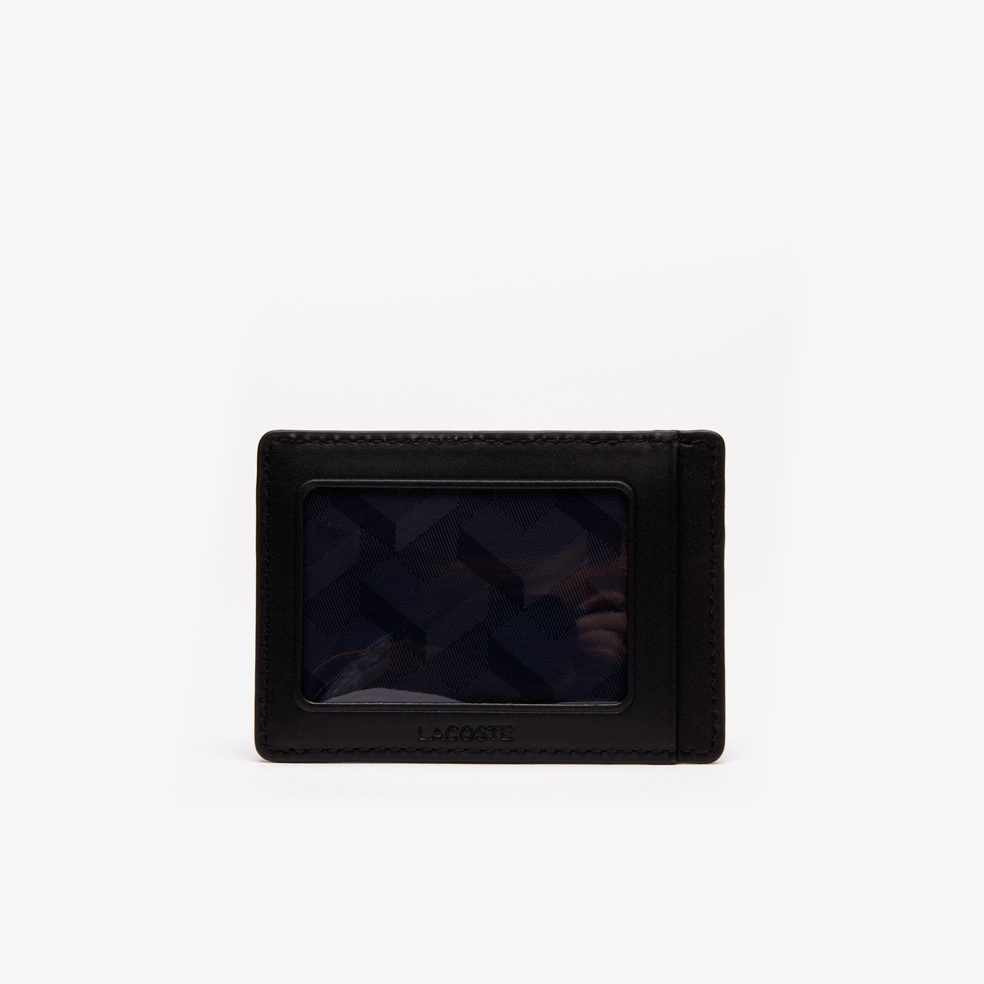 محفظة وحامل بطاقات 8 فتحات من جلد البيكيه مجموعة Chantaco للرجال