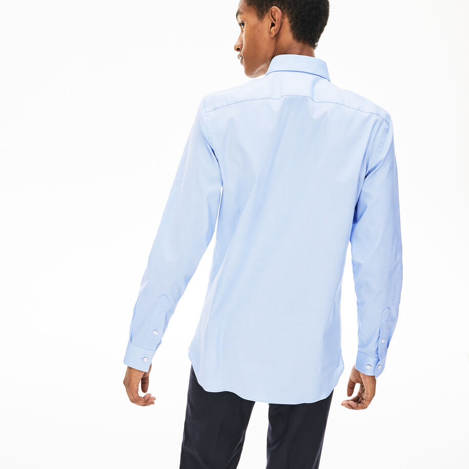 Men's Slim Fit Stretch Cotton Shirt
