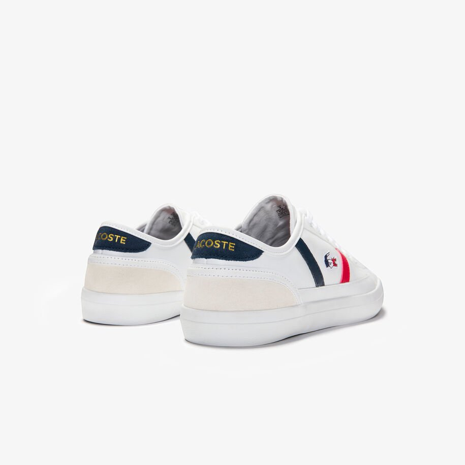 Men's Sideline Leather Tricolore Trainers