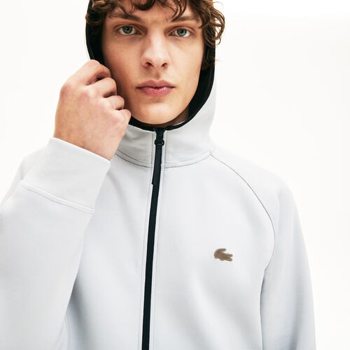 Men's Lacoste Motion Hooded Zip Sweatshirt